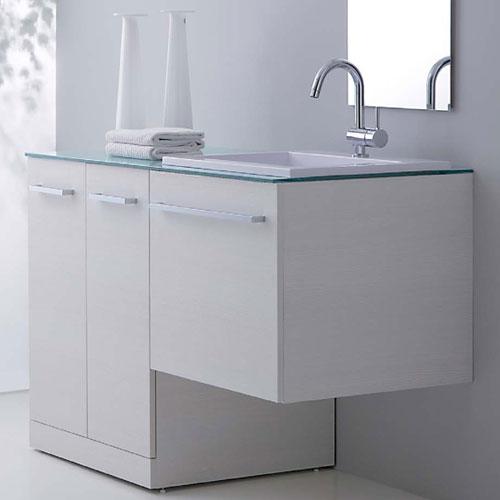 Mobile lavatrice - Lavandini con mobiletto ...