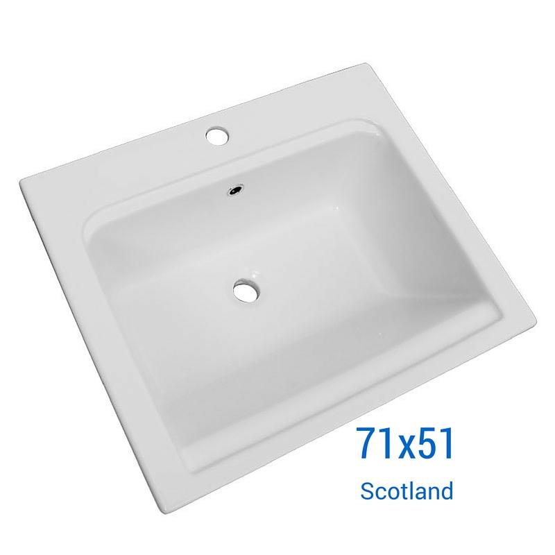 Lavatoi in ceramica lavabo 71 scotland incasso for Lavatoio esterno